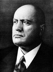 Benito Mussolini E-M35