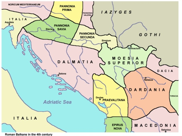 Kosovo Dardania 400 BC in the Roman Balkans