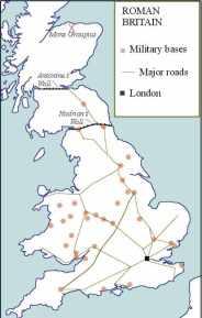 E-M35 E-V13 Roman Forts in Britain