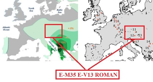 E-M35 E-V13 Roman