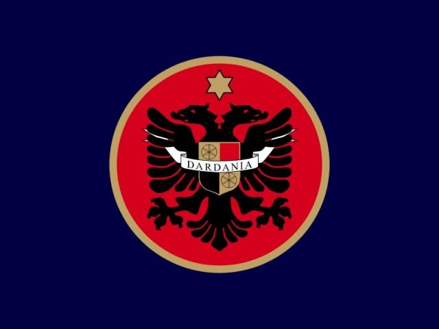 Kosovo Dardania Flag