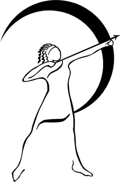 Monday - Roman day of the Moon - Artemis (The Hunter)