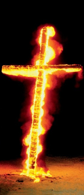 Nimrods Burning Cross