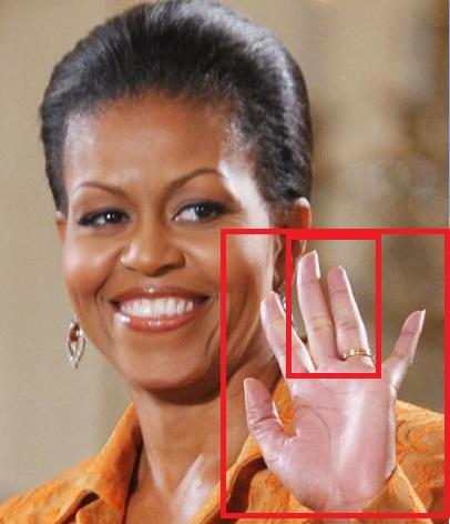 Salute to Nimrod hand symbol
