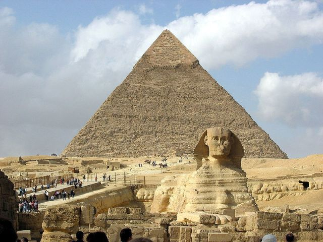 Sphinx Hamitic Architecture and Symbol