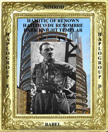 Adolf Hitler Evil Hamitic of Renown