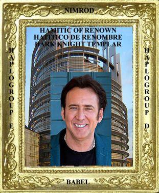 Hamitic of Renown Nicolas Cage