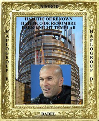Hamitic of Renown Zinedine Zidane